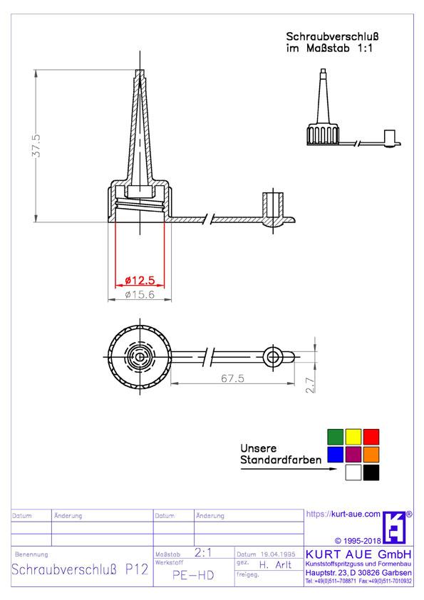 Schraubverschluss P12