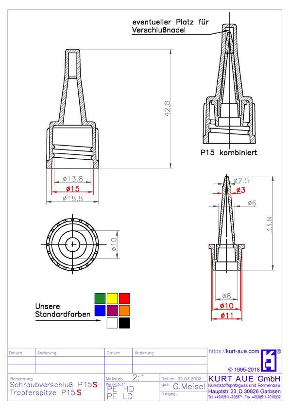 Schraubverschluss P15.2-S