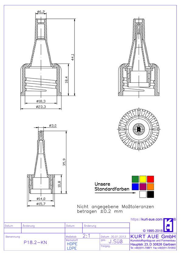Schraubverschluss P18.2-KN