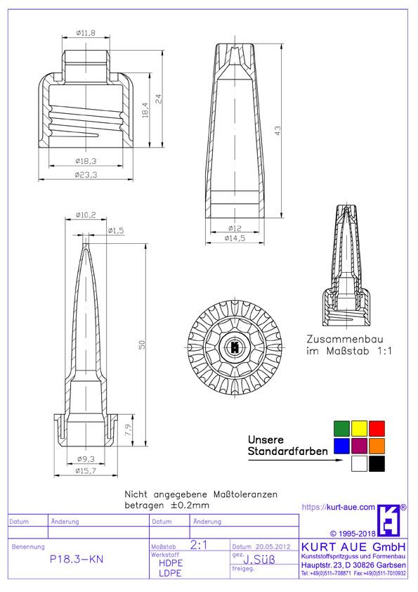 Schraubverschluss P18.3-KN
