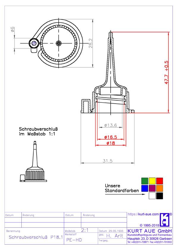 Schraubverschluss P18.1