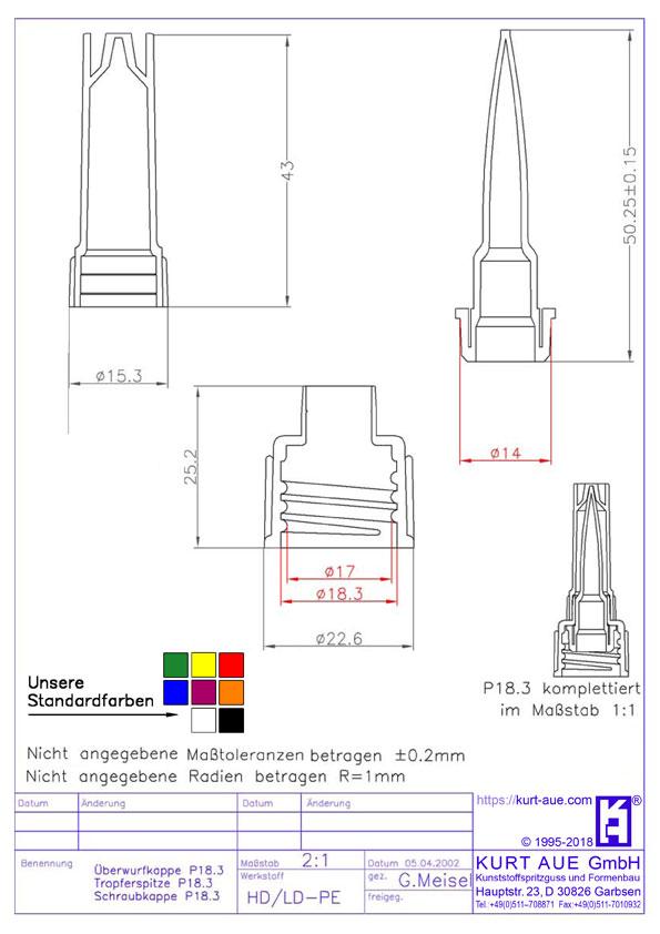 Schraubverschluss P18.3K