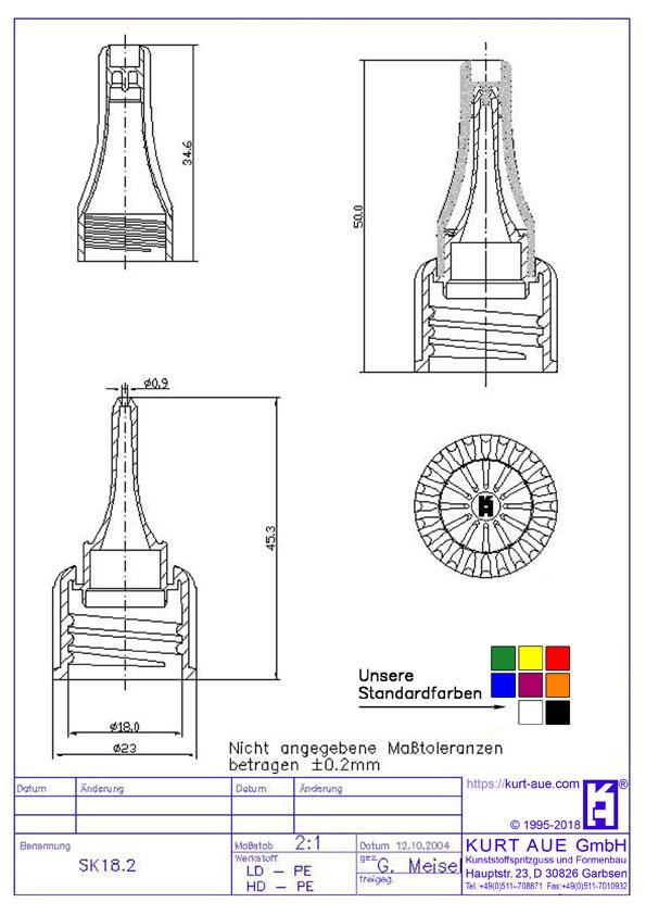 Schraubverschluss SK 18.2